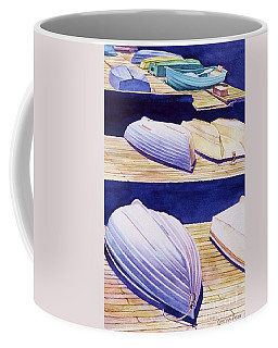 Dinghy Lines Coffee Mug