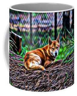 Dingo From Ozz Coffee Mug by Miroslava Jurcik