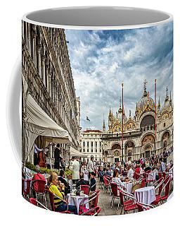 Dining On St. Mark's Square Coffee Mug
