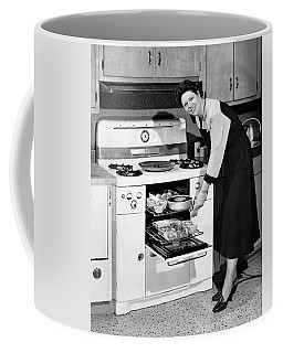Dinner In The Oven Coffee Mug