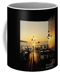 Dinner On The Water Coffee Mug