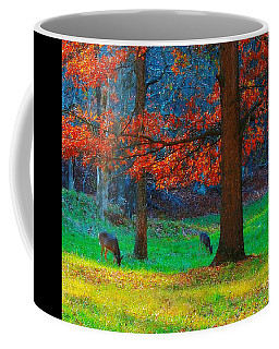 Dinner Under The Trees Coffee Mug