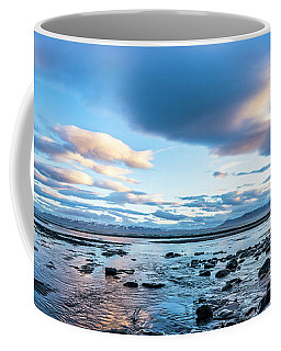 Dinosaur Rock Beach In Iceland Coffee Mug by Joe Belanger