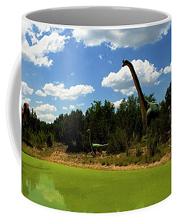 Dinosaur World 3 Coffee Mug by Bob Pardue