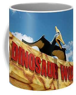 Dinosaur World Coffee Mug by Bob Pardue