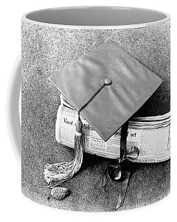 Diplomas By Newspaper Coffee Mug
