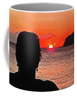 Dipping Below The Horizon Coffee Mug by Ian  MacDonald
