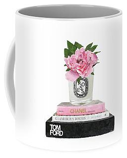 Watercolor Peony Digital Art Coffee Mugs