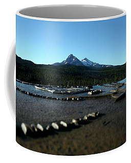 Coffee Mug featuring the photograph Directional Points by Laddie Halupa