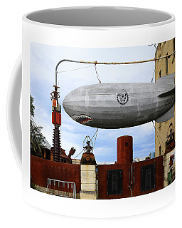 Dirigible At Steam Punk Hq Coffee Mug
