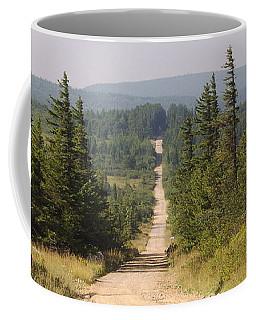 Dirt Road To Dolly Sods Coffee Mug