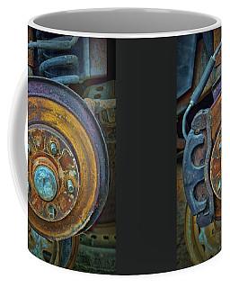 Disc Brake Assembly Coffee Mug by Nikolyn McDonald