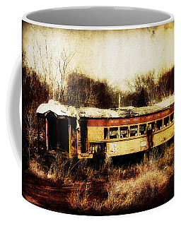 Discarded Train Coffee Mug