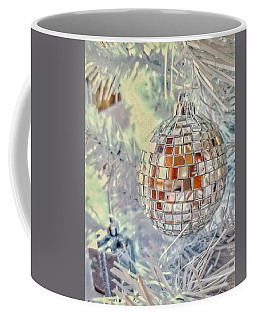 Disco Ball Tree Ornament Coffee Mug