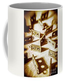 Disco Dancing Cassettes Coffee Mug