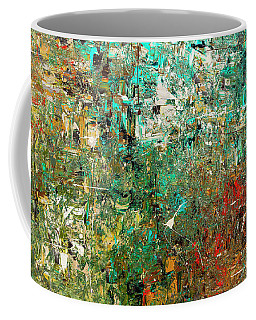 Discovery - Abstract Art Coffee Mug