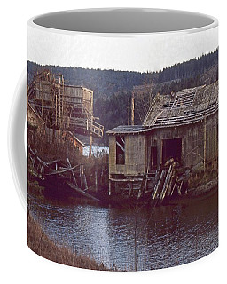 Coffee Mug featuring the photograph Discovery Bay Mill by Laurie Stewart
