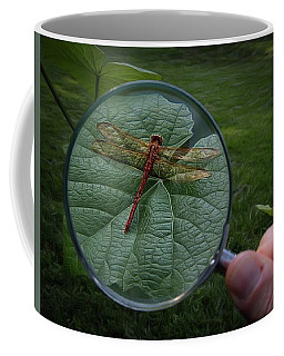 Coffee Mug featuring the photograph Discovery by Mark Fuller