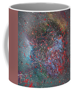 Coffee Mug featuring the painting Discovery by Michael Lucarelli