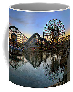 Disney California Adventure Panorama Coffee Mug