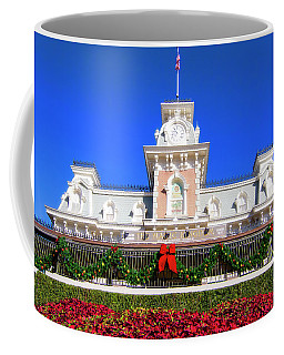 Disney Railroad Station Coffee Mug