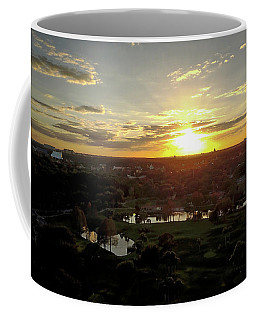 Coffee Mug featuring the photograph Disney Sunset by Michael Albright