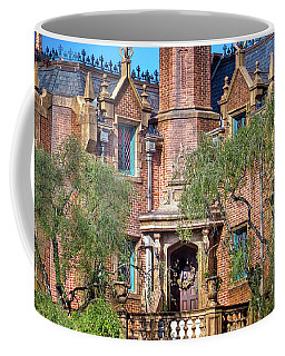 Coffee Mug featuring the photograph Disney World Haunted Mansion  by Mark Andrew Thomas