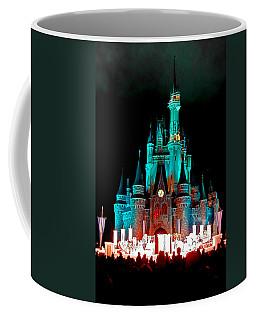 Disney World Night Coffee Mug by John Haldane