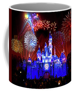 Disneyland 60th Anniversary Fireworks Coffee Mug
