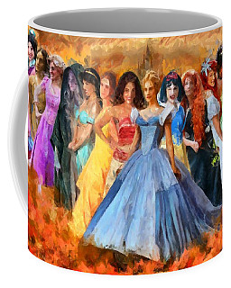 Disney's Princesses Coffee Mug