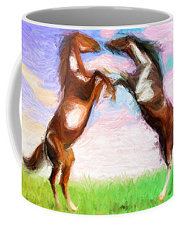 Dispute Coffee Mug by Caito Junqueira
