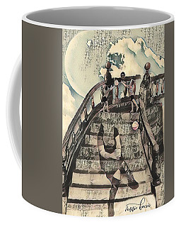 Dissociated Mother Coffee Mug by Vennie Kocsis