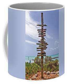 Distance From Key West Coffee Mug