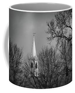 Distant Church Coffee Mug