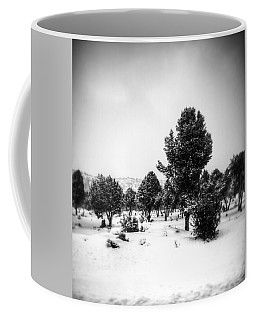 Coffee Mug featuring the photograph Distant by Mark Ross