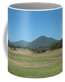 Distant Moutains Coffee Mug