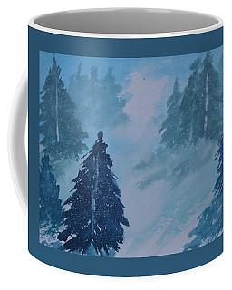 Distant Snow 2  Coffee Mug