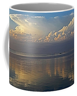 Coffee Mug featuring the photograph Distant Thunder by HH Photography of Florida