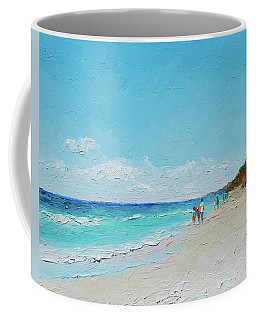 Ditch Plains Beach Montauk Hamptons Ny Coffee Mug