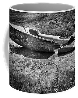 Coffee Mug featuring the photograph Ditched by Keith Elliott
