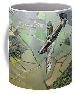 Dive Bombing Spitfire Coffee Mug by Gary Eason