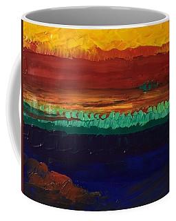 Coffee Mug featuring the painting Divertimento by Norma Duch