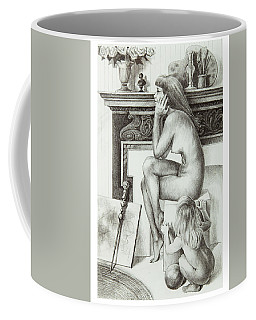 Divided Loyalties Coffee Mug by Yvonne Wright