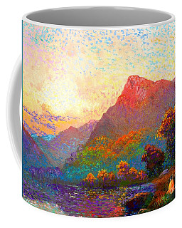 Buddha Meditation, Divine Light Coffee Mug