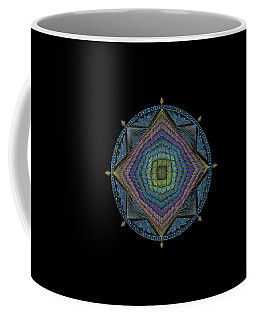 Coffee Mug featuring the painting Divine Masculine Energy by Keiko Katsuta