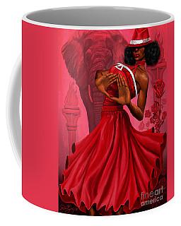 Divine Red And White Coffee Mug