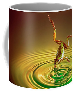 Coffee Mug featuring the photograph Diving by William Lee