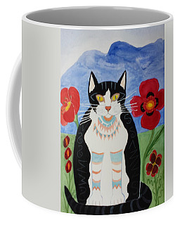 Diwali Tux Cat Coffee Mug