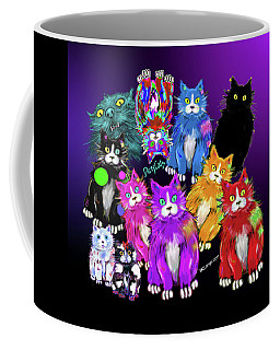 Dizzycats Coffee Mug