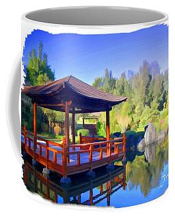 Do-00003 Shinden Style Pavilion Coffee Mug by Digital Oil